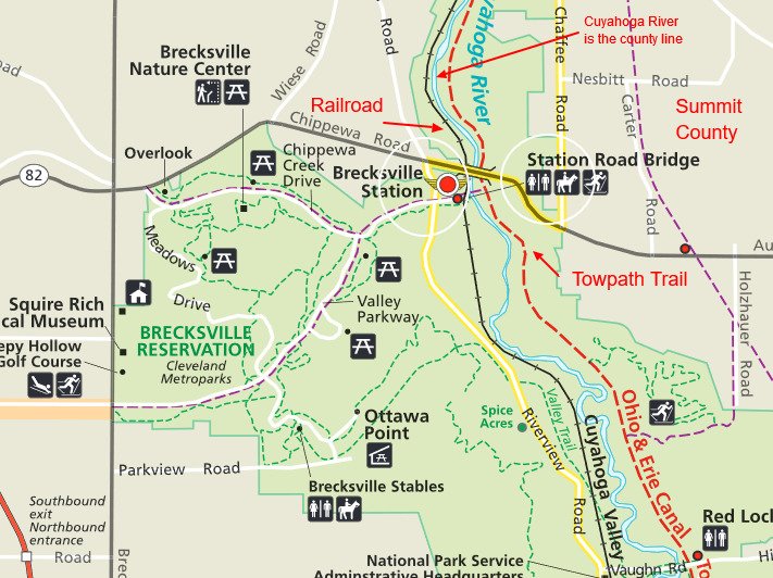 Cuyahoga Valley National Park-Station Road Towpath Trail (Summit ...