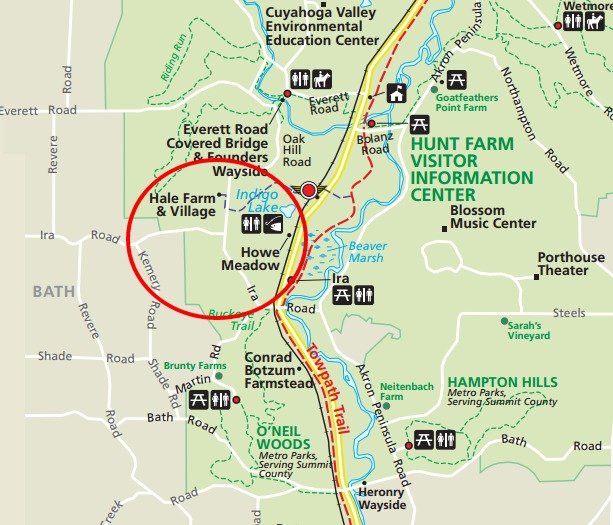 Cuyahoga Valley National Park-Hale Farm and Howe Meadow - Birding in ...