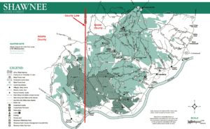 Focus on Shawnee State Forest and Shawnee State Park ... on frances slocum state park campground map, chenango valley state park campground map, moose brook state park campground map, pueblo state park campground map, lyman run state park campground map, oconee state park campground map, poe valley state park campground map, pike lake state park campground map, wolf run state park campground map, oscar scherer state park campground map, keystone state park campground map, poe paddy state park campground map, ricketts glen state park campground map, washington state park campground map, tobyhanna state park campground map, lums pond state park campground map, kelleys island state park campground map, killens pond state park campground map, blue knob state park campground map, reeds gap state park campground map,