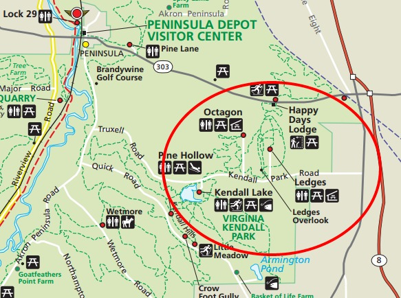 Cuyahoga Valley National Park-Ledges Trail and Octagon ...